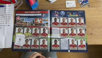 Die FIFA und andere Fussballverbände haben bei der Zusammenarbeit mit Panini für die Sammelbilder keine Fehler gemacht. (Archiv)