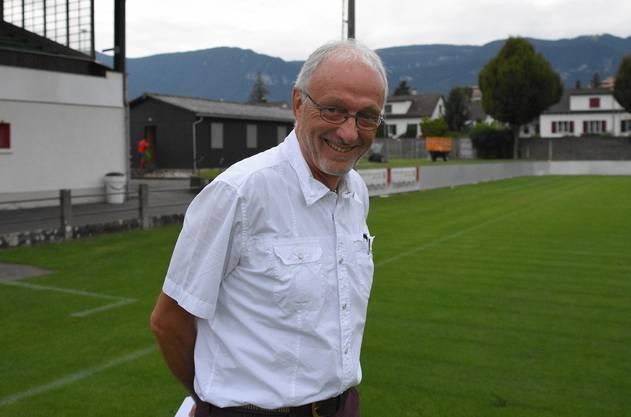 Dr. Ruedi Walter ist seit über zwei Jahrzehnten Clubarzt des FC Solothurn