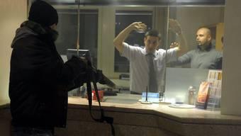 Der Täter flüchtete ohne Beute (Symbolbild)..JPG