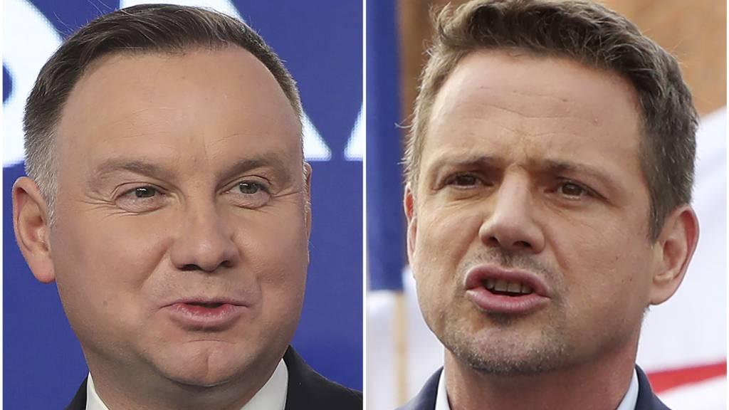Duda und Trzaskowski bei Wahl in Polen fast gleichauf