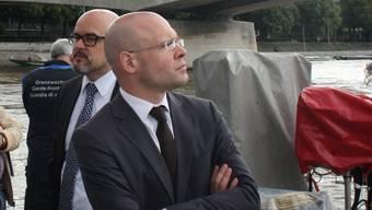 Sicherheitsdirektor Baschi Dürr reicht eine Anzeige gegen unbekannt ein.