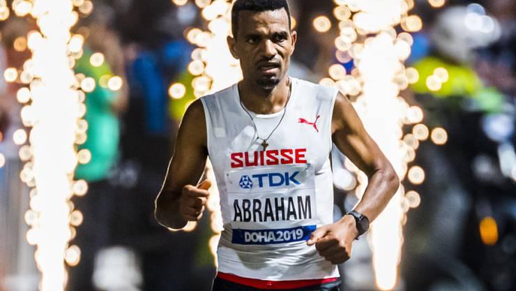 Tadesse Abraham strotzte den schwierigen Bedingungen