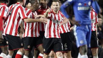 Sunderland jubelt, Chelsea niedergeschlagen