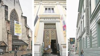 Die Karten könnten plötzlich ganz neu gemischt werden: Bleibt das Antikenmuseum an seinem Standort und zieht das Historische Museum in den Berri-Bau (Mitte)?