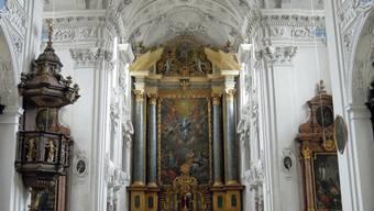 Die Stadtmusik Solothurn lud zum Konzert in der Jesuitenkirche