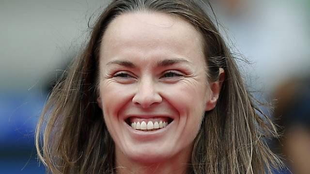 Wird temporäre Trainerin von Sabine Lisicki: Martina Hingis