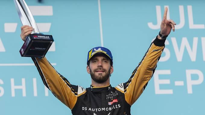 Jean-Eric Vergne gewann vor drei Wochen auch das Formel-E-Rennen in Bern