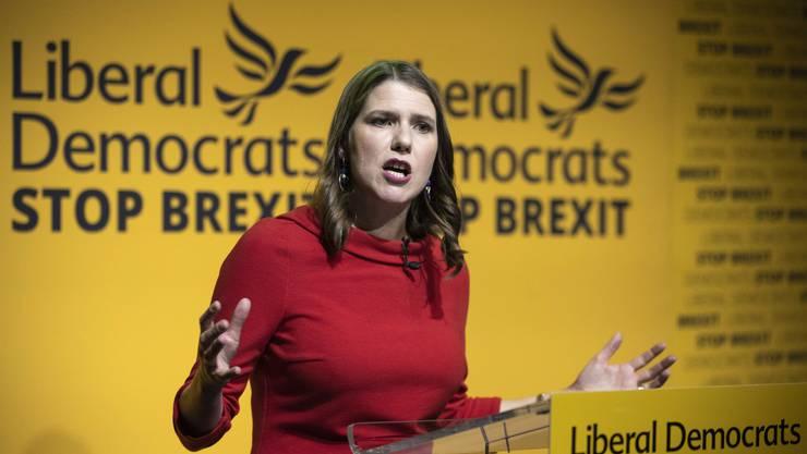 Jo Swinson, neue Vorsitzende der britischen Liberaldemokraten.