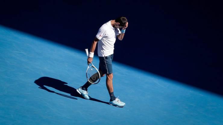 Licht und Schatten liegen nahe beieinander: Familie und Sport unter einen Hut zu bringen, bereitet Djokovic Mühe.