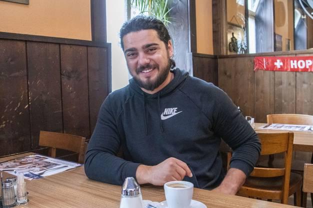 Puffbesitzer Diego arbeitet seit mehreren Jahren in der Branche. Basel kennt er als schwieriges Pflaster.