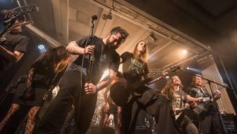 Plattentaufe der Badener Metalband Lotrify