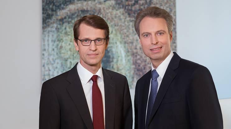 Botond Roska und Hendrik Scholl