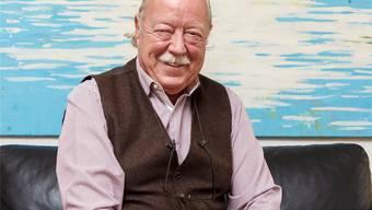 Hat gut lachen: Rolf Studer, Verwaltungsratsvizepräsident der Seilbahn Weissenstein, zählte im ersten Betriebsjahr viel mehr Besucher, als er je erwartet hätte.