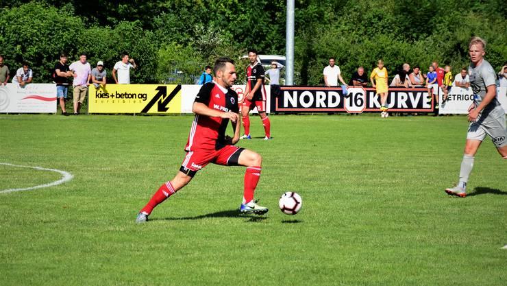 Einmal mehr Mann des Spiels für den FC Klingnau.