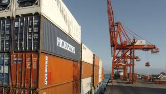 Die OECD spricht von einer Stagnation im Welthandel. (Archiv)