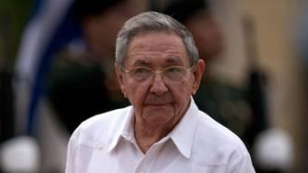 Der kubanische Präsident  Raúl Castro wollte im Parlament in Havanna ebenfalls sprechen (Aufnahme vom November dieses Jahres).
