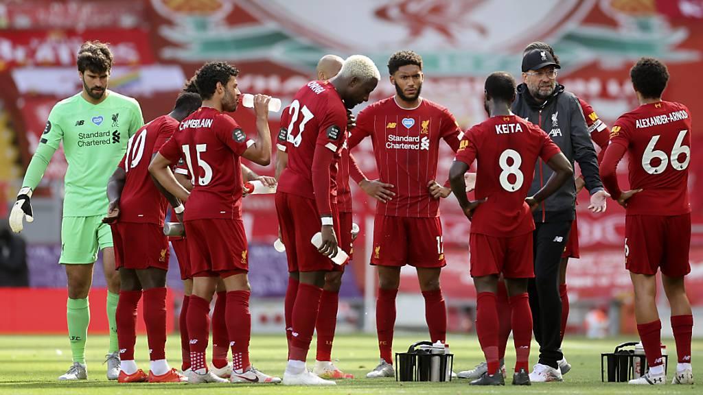 Shaqiri sieht Liverpool-Sieg von der Bank