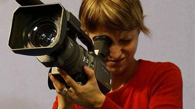 Videojournalistin von Tele Tell (Archiv)
