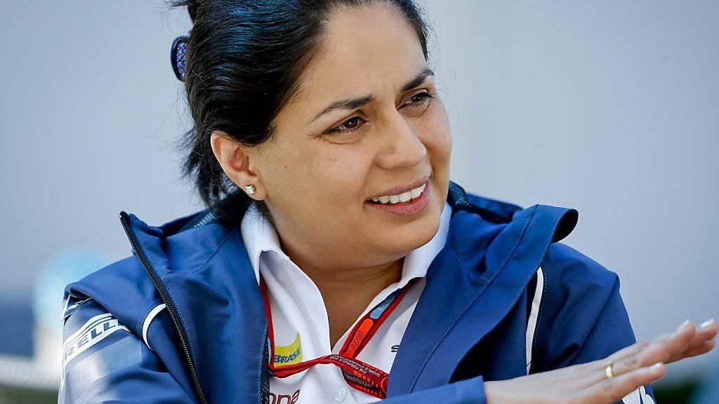 Sauber-Chefin Monisha Kaltenborn blickt optimistisch in die Zukunft