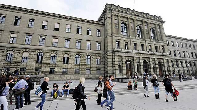 Das Hauptgebäude der ETH Zürich (Archiv)