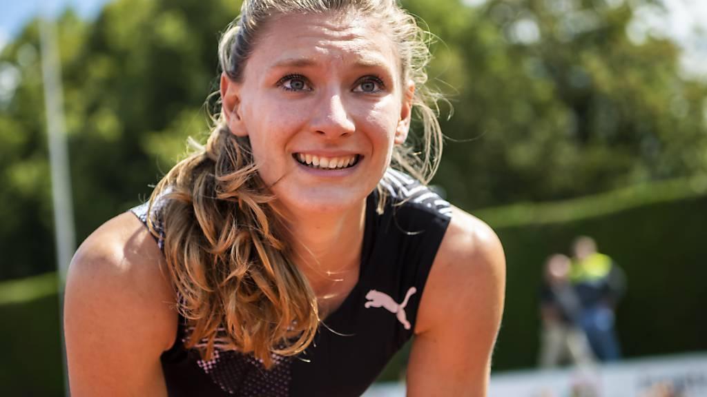 Ajla Del Ponte musste sich über 100 m für einmal geschlagen geben