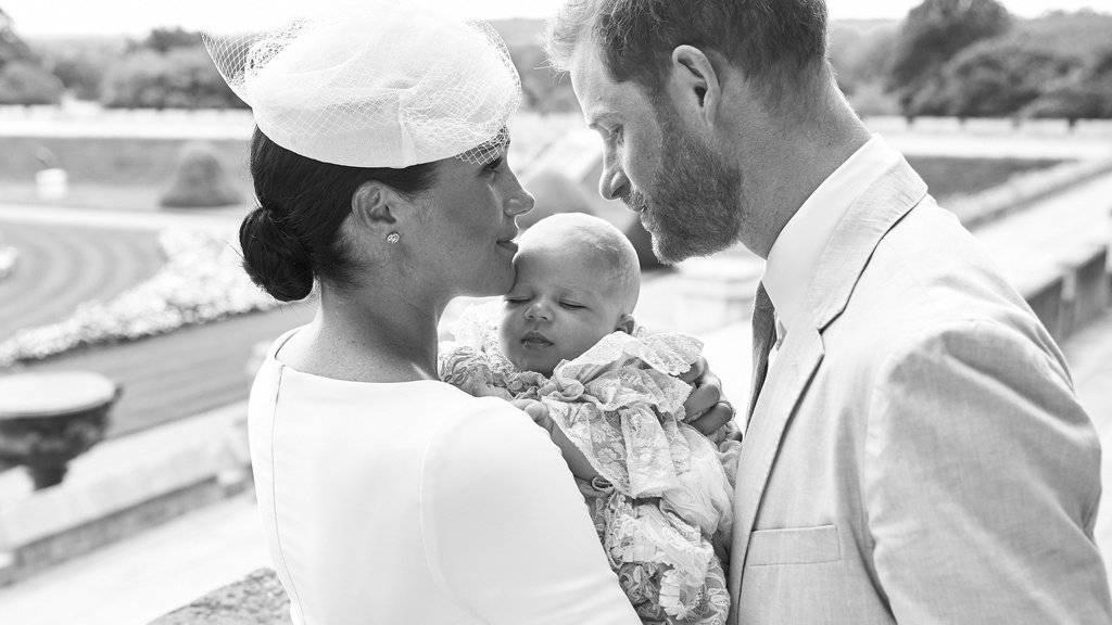 Jüngster britischer Royal wird getauft