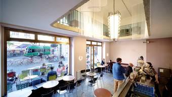 Im Obergeschoss des «Non Fumare» entsteht ein Rückzugsort in der Basler Innenstadt. Bild: Kenneth Nars (Basel, 11.10.2019)