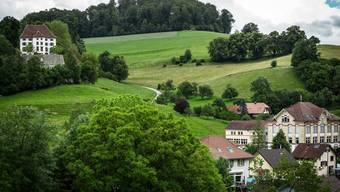 Das Schloss Rued in Schlossrued ist ein wichtiges Wahrzeichen des Ruedertals.