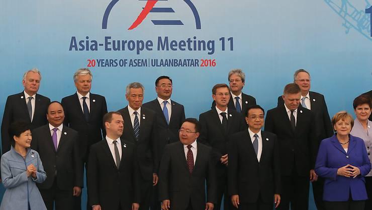 Die Teilnehmer des ASEM-Gipfels wollen ihre Kräfte im Kampf gegen den Terrorismus bündeln.