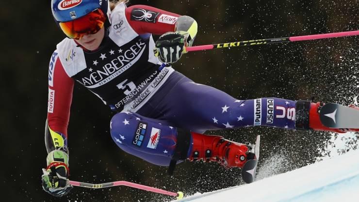 Mikaela Shiffrin gewann als siebte Athletin in allen Weltcup-Disziplinen ein Rennen