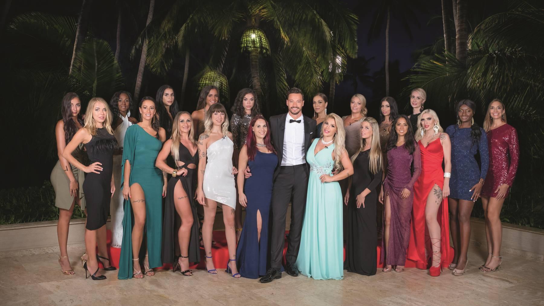 20 reizende Ladys für Bachelor Clive Bucher