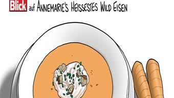 Karikatur: Silvan Wegmann Aargau: «isskatz» statt «whiskas?