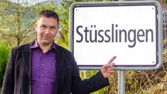 Gemeindepräsident Georges Gehriger führt Stüsslingen durch den Fusionsprozess