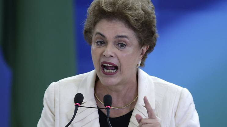 «Ich werde mit all meiner Kraft kämpfen»: Brasiliens (Noch-)Präsidentin Dilma Rousseff