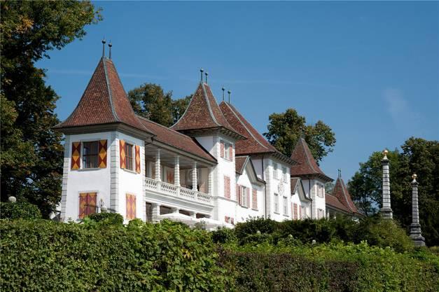 Schloss Waldegg in Feldbrunnen-St.Niklaus. Erbaut wurde es zwischen 1682 und 1686 von Schultheiss Johann Viktor I. von Besenval.