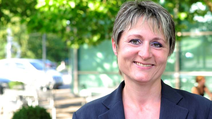 Franziska Roth will für die SVP Aargau einen Sitz in der Regierung erobern.