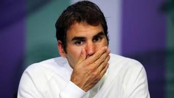 Ein nachdenklicher Roger Federer: Wie geht es mit dem Tennis-Star weiter?