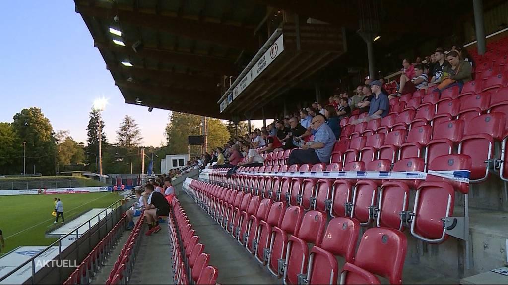 Sitzplatzprobleme beim FC Aarau: Gibt es dafür eine Lösung?