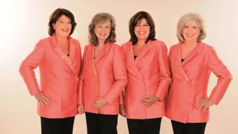 Geschwister Biberstein: v.l. Margreth, Ruth, Dorli und Marie-Louise