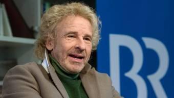 """Thomas Gottschalk, Entertainer und Showmaster, präsentiert bei einer Medienkonferenz seine neue Sendung """"Gottschalk liest?"""". (Archiv)"""