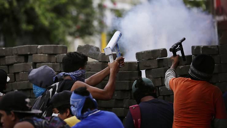 Die Regierung in Nicaragua soll Pestizide gegen Demonstranten eingesetzt haben.