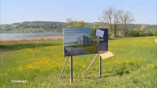 Luxuswohnhaus mitten im Naturschutzgebiet am Greifensee?