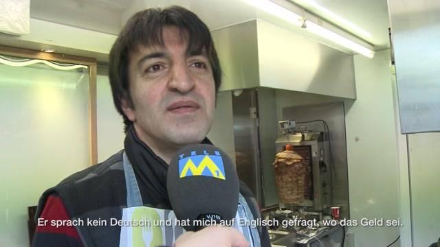 Brutaler Raubüberfall auf Kebab-Bude in Brugg