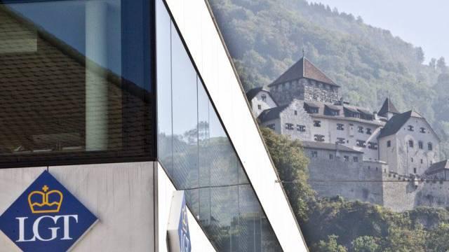 Der Hauptsitz der LGT Gruppe in Vaduz