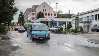 Eine Folge der angeschlagenen Infrastruktur: Wasserrohrbrüche - wie hier in St. Gallen.