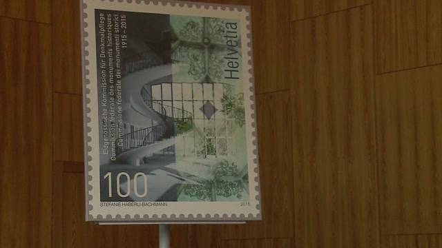 Neue Badener Briefmarke