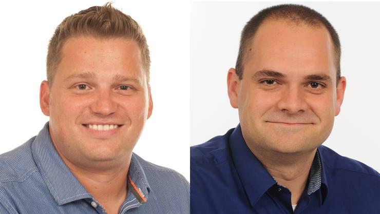 Tobias Franz und Mirco Blöchliger.