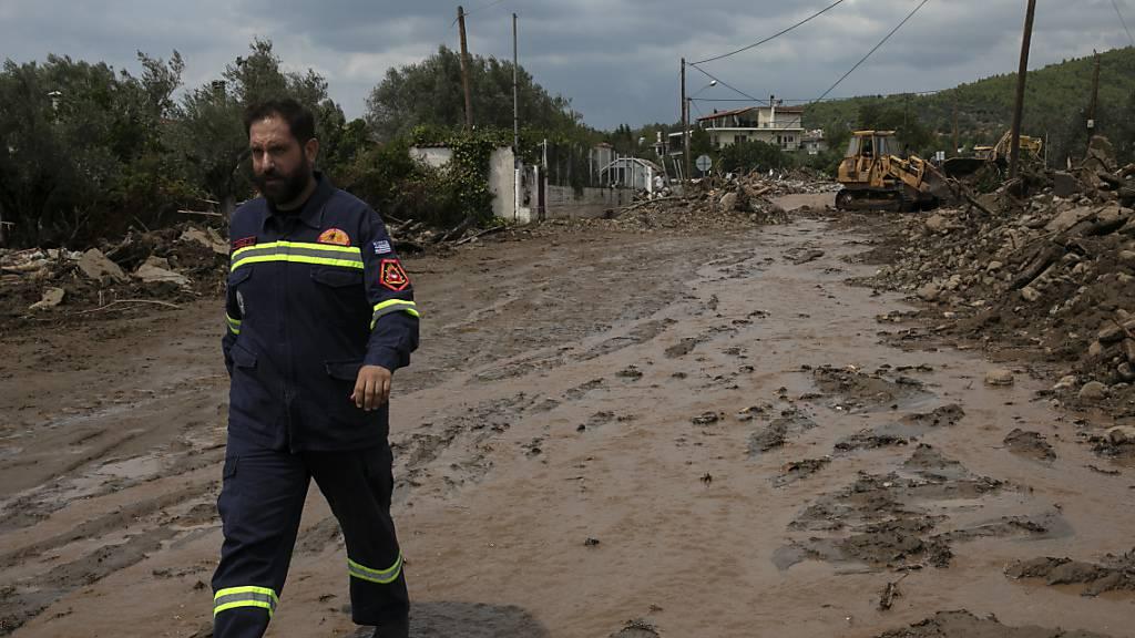 Mindestens fünf Todesfälle bei Überschwemmungen
