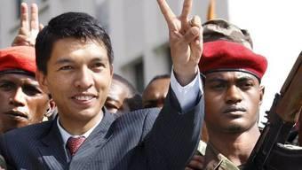Andry Rajoelina auf einer Aufnahme aus dem Jahr 2009 (Archiv)