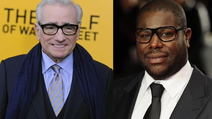 Martin Scorsese und Steve McQueen sind für die begehrte Regie-Trophäe nominiert